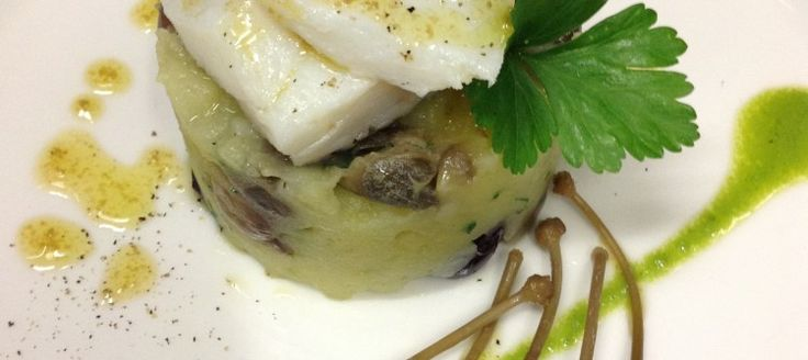 Codfish with Potatoes, Olives and Capers