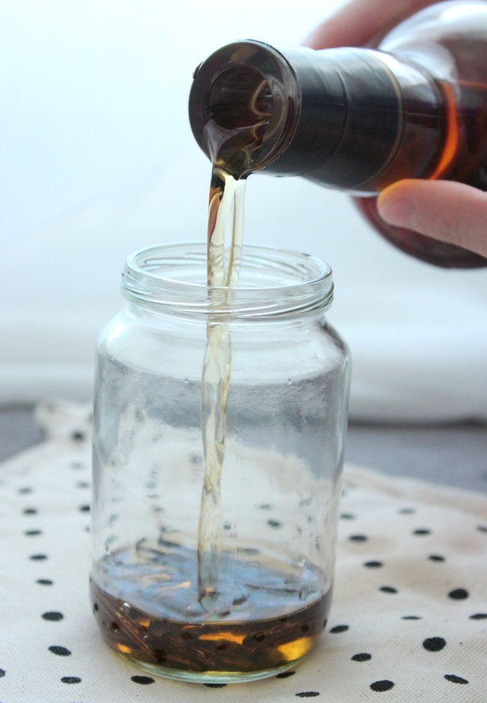 Vanillearoma selbst machen mit Vanilleschoten und Rum/Whisky, Vanille, Backen