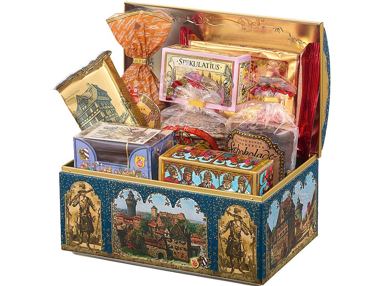 Lebkuchen Schmidt | Old Nuremberg Chest | Original Nürnberger Lebkuchen purchase online
