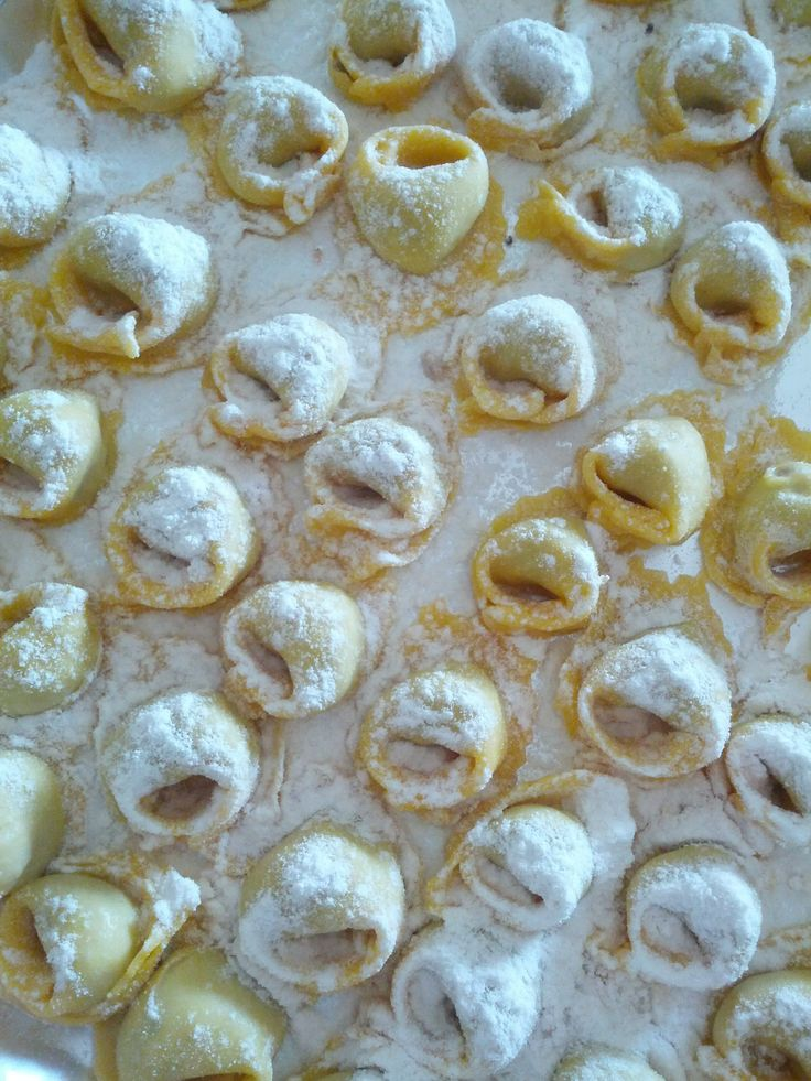 Meat tortellini www.easyitaliancuisine.com
