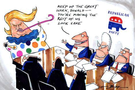 Cartoon: Keep up the good work Trump - Opinion - NZ Herald News