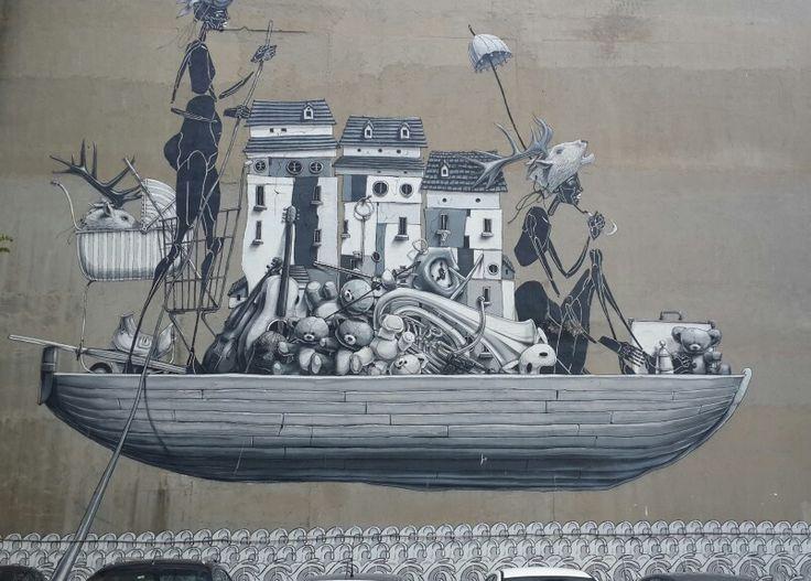 Kadıköy-Caferağa Duvar sanatı