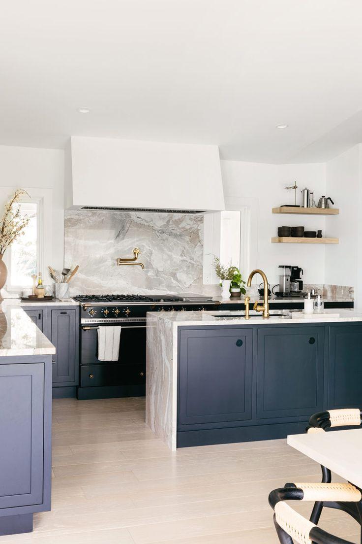Anna Bond S Black And White Florida Home Interior Design Kitchen Kitchen Interior Kitchen Remodel