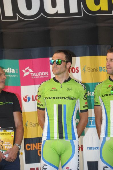 Ivan Basso of Cannondale team at the Tour De Pologne 2013