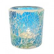 Blue mosaic candle holder  Wholesale Giftware Tea Light and Votive Holders - Something Different Wholesale