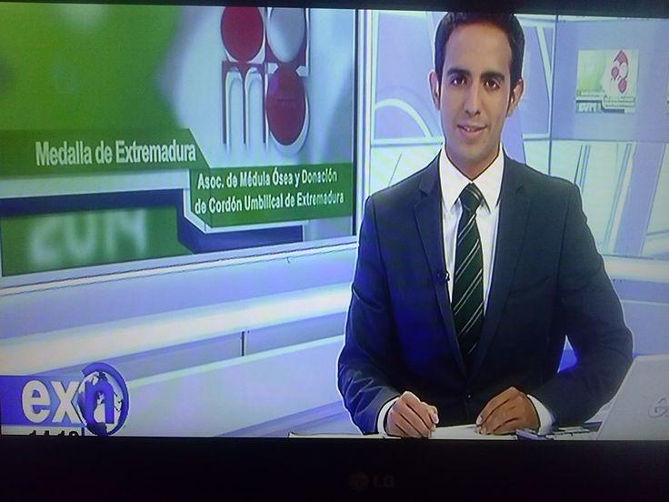 Reportaje especial de los servicios informativos de Canal Extremadura Televisión sobre la Asociación para la Donación de Médula Ósea de Extremadura.