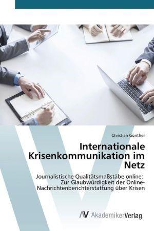 Internationale Krisenkommunikation Im Netz