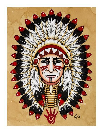 Getting A Native American Indian Tattoo The Trouble With - 437×561