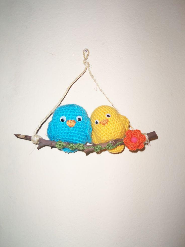 otros pajaritos crochet