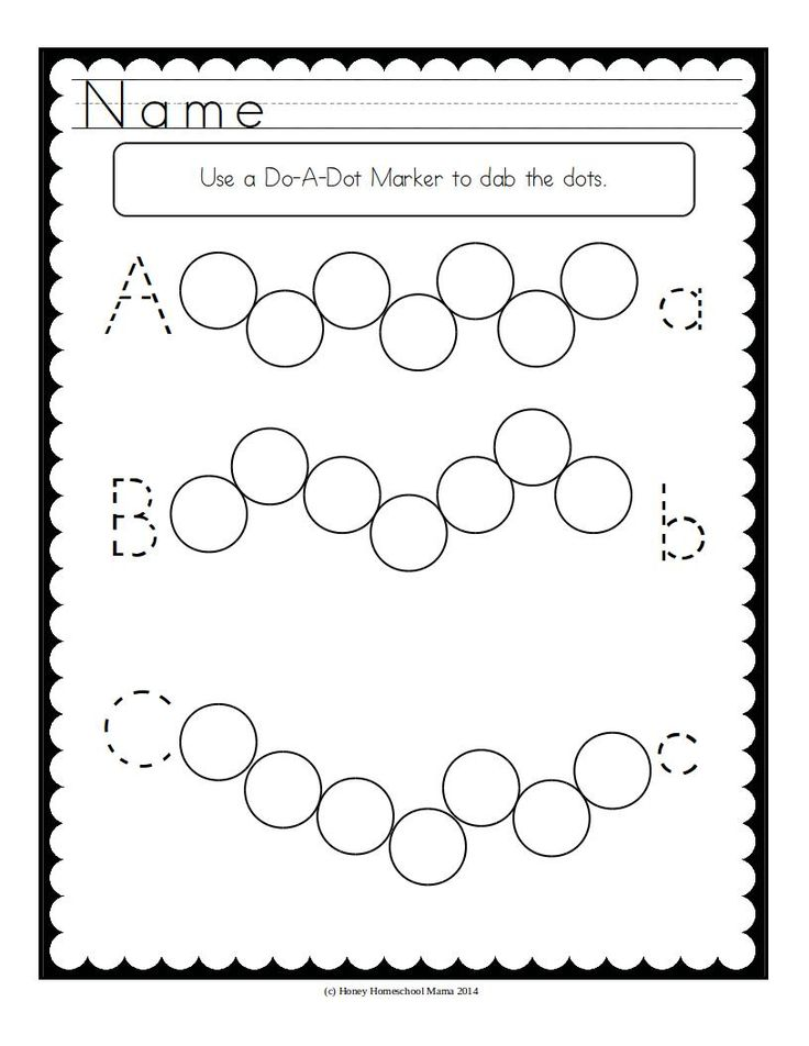 80 best Do-A-Dot Marker Activities images on Pinterest | Markers ...