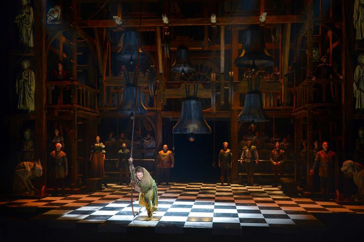 "The ""Hunchback Of Notre Dame"" Musical Is A Far Cry From The Disney Film - The Disney movie adaptation of Victor Hugo's novel actually toned down a lot of the darker, more adult elements of the story (and, even then, it was dark by Disney standards!). This production, playing at the La Jolla Playhouse in La Jolla, California, takes the songs from the Disney movie, the full-scale unhappier plot of the novel, and combines them."