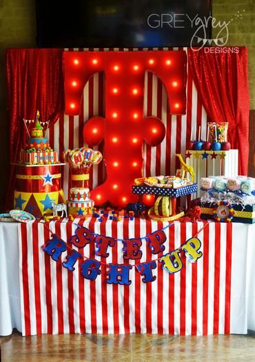 Hostess with the Mostess® - TJ and Taylor's Circus Party