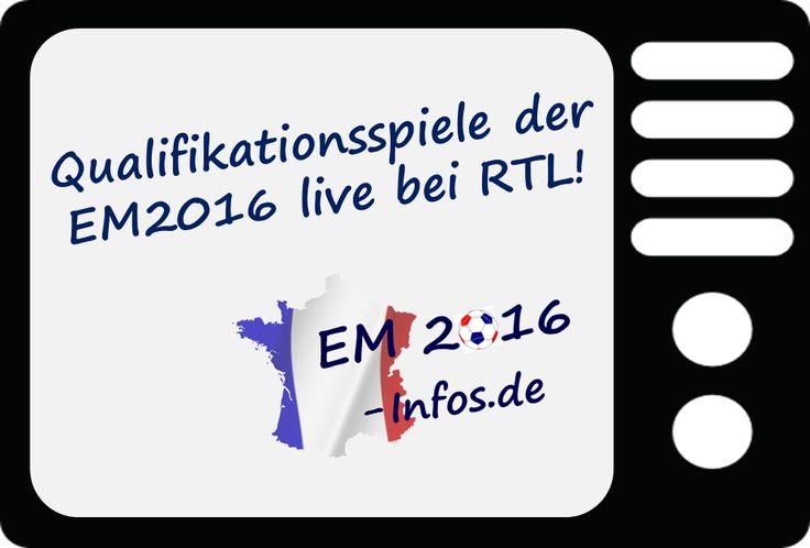 Qualifikation zur EM 2016 live bei RTL. Mehr Infos auf http://www.em2016-infos.de