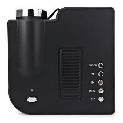 UC28+ Mini Portable LED Projector 400 Lumens 320 x 240 Native Resolution 16:9 Aspect Ratio Supports HDMI/USB/VGA/IR/SD Card (US Plug) #women, #men, #hats, #watches, #belts, #fashion, #style