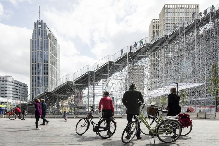 Gallery of MVRDV Unveil Monumental Urban Staircase in the Center of Rotterdam - 2