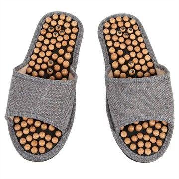 Sandales de réflexologie avec aimant T38