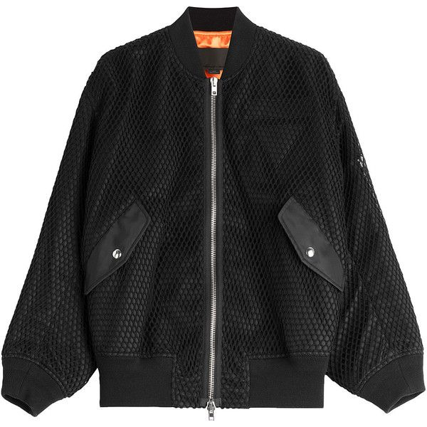 Alexander Wang Boyfriend Bomber Jacket (9.833.725 IDR) ❤ liked on Polyvore featuring outerwear, jackets, tops, coats, black, flight bomber jacket, alexander wang jacket, oversized boyfriend jacket, blouson jacket and oversized jacket