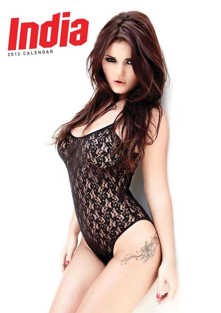 BACK ISSUE: India Reynolds A3 Calendar 2012