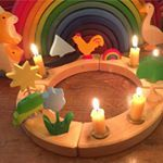 Waldorf birthday ring @bellalunatoys about the importance of childhood play, storytelling and rituals in a child's daily life.⠀ ⠀ #craftspring #bellalunatoys #waldorf #playtime #handmade #felt #wool #ritual #storytelling #children #waldorftoys #woodentoys #waldorfinspired #rainbows #ostheimer #waldorfhomeschool #waldorfhome #montessoritoys #waldorfeducation #waldorflife #waldorfkids #advent #adventspiral #candlering #theartofslowliving #artsandcrafts #...