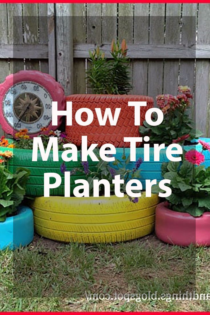 25 Inspiring Tire Planter Ideas To Add To Your Outdoor Living