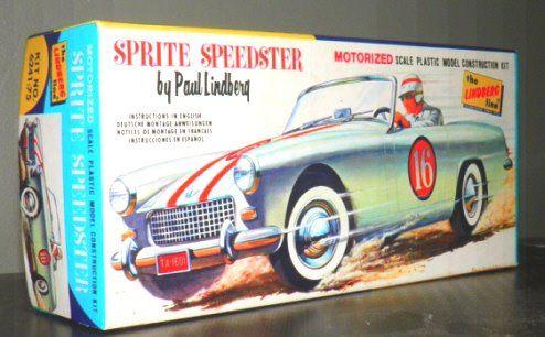 Vintage Revell Competition Austin Healey H 1244 1 25 Model Car