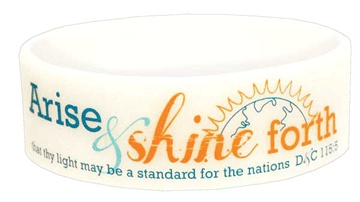 2012 Mutual Theme UV Silicone Bracelet - LDS Jewelry | Ringmasters Jewelry and GiftsYoungwomen, Birthday Gifts