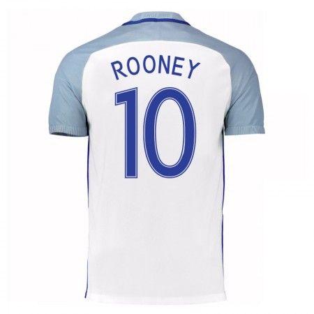 England 2016 Wayne Rooney 10 Hjemmedrakt Kortermet.  http://www.fotballpanett.com/england-2016-wayne-rooney-10-hjemmedrakt-kortermet-1.  #fotballdrakter