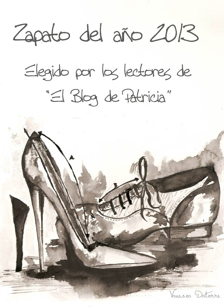 """Las lectoras de """"El Blog de Patricia"""" nos eligieron como """"El Zapato del Año 2013"""". Muchas gracias! #fluxa #shoes #happy"""