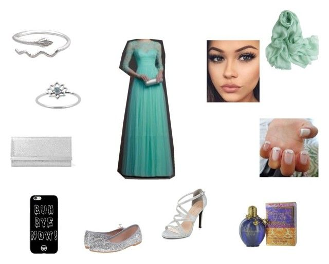 Pretty Formal by roxy-crushlings on Polyvore featuring Summit by White Mountain, New Look and Jimmy Choo