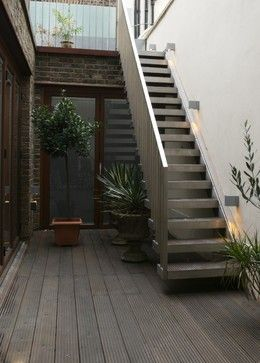 external metal staircase - Google Search
