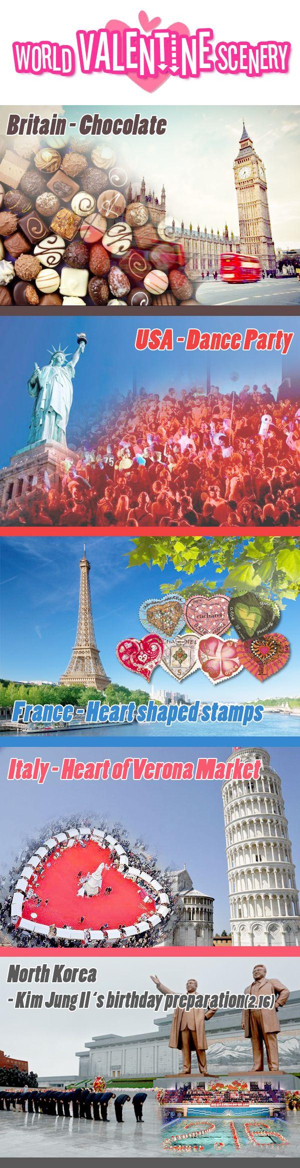 world valentine scenery