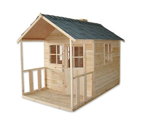 Image Detail For Outdoor Playhouse Wooden Cubby House
