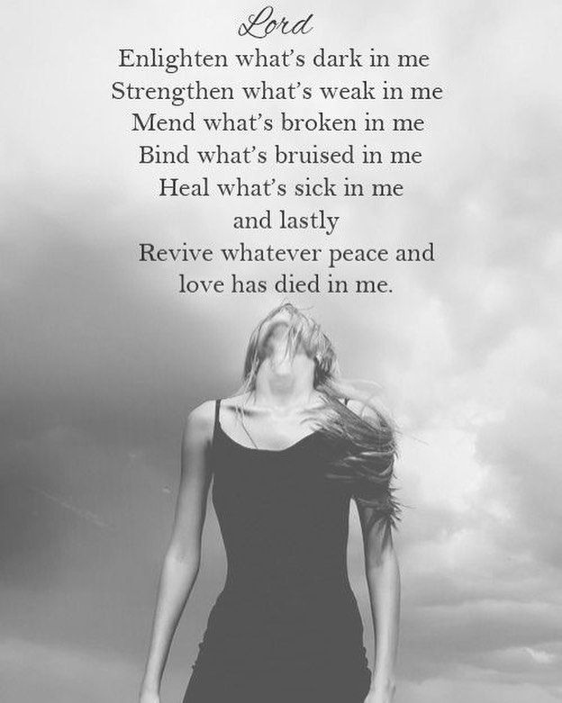 For the ones who feel so broken and beaten down completely invalidated by the words of comfort being spewed...