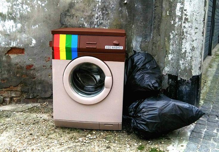 Street-Art aus Oostende | Dressed Like Machines