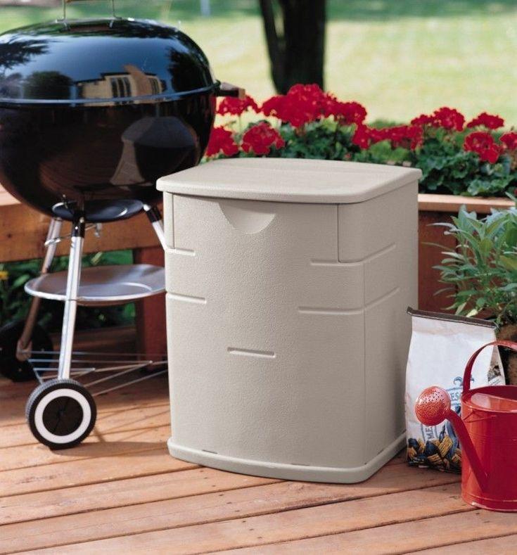 Patio Storage Box Heavy Duty Plastic Floor Garage Deck BBQ Grill Storage Cabinet: $30.87End Date: Feb-10 06:02Buy It Now for… #eBay #Amazon