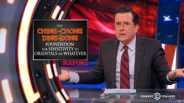 Colbert Report Ignites Outrage With Deleted Asian Joke Tweet
