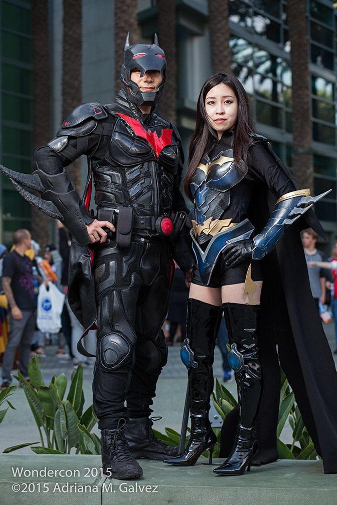 Future Batman Beyond Cosplay with Batgirl | by SleepyTiki