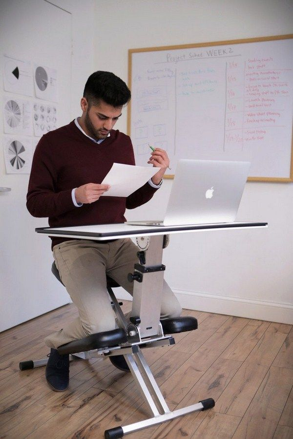 kneeling chair desk work table orthopedic ergonomic metal