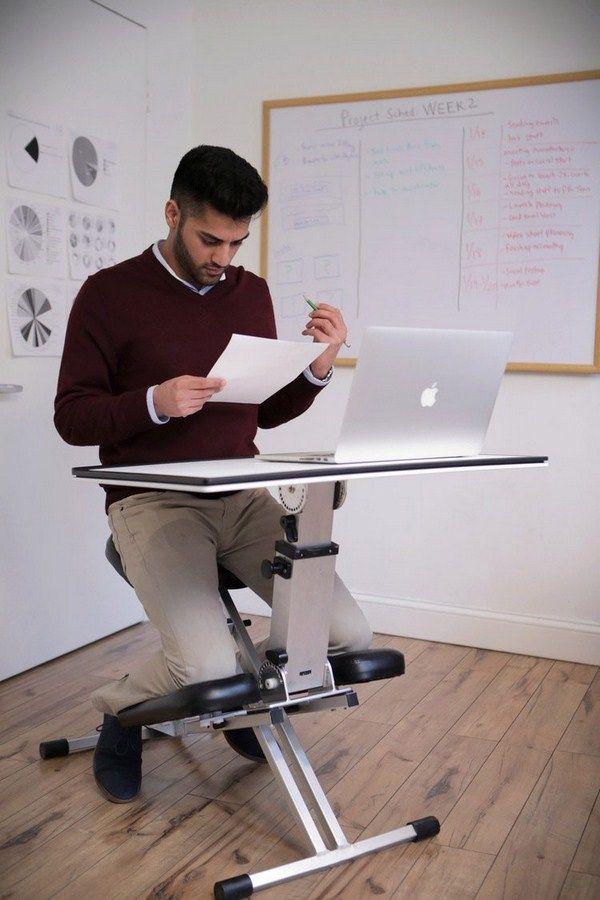 kneeling chair desk work table orthopedic ergonomic metal