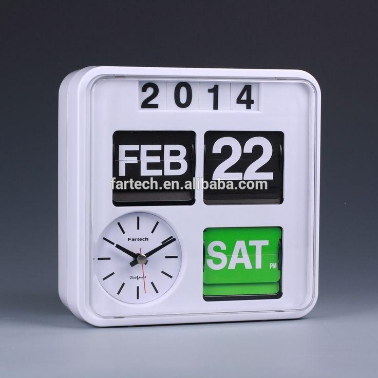 Fartech Automatic Calendar Flip Clock Ad-880 - Buy Automatic Calendar Flip Clock,Retro Flip Clock,Modern Flap Clock Product on Alibaba.com