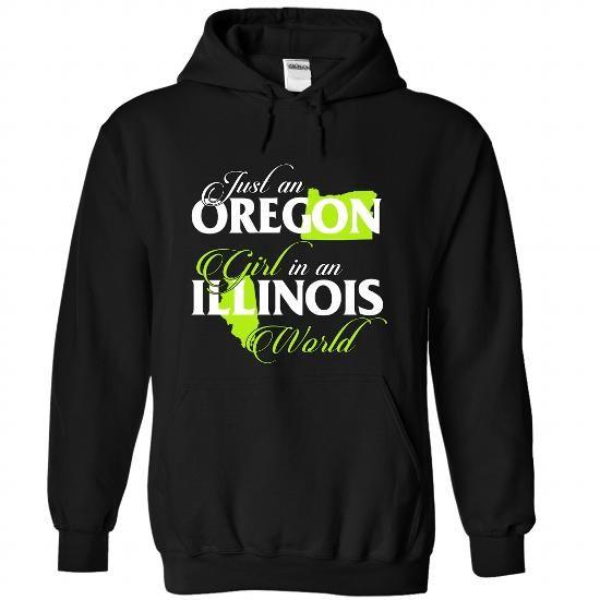 OREGON-ILLINOIS girl 02Lime - #gift for guys #shirt ideas. GUARANTEE => https://www.sunfrog.com/States/OREGON-2DILLINOIS-girl-02Lime-Black-Hoodie.html?60505