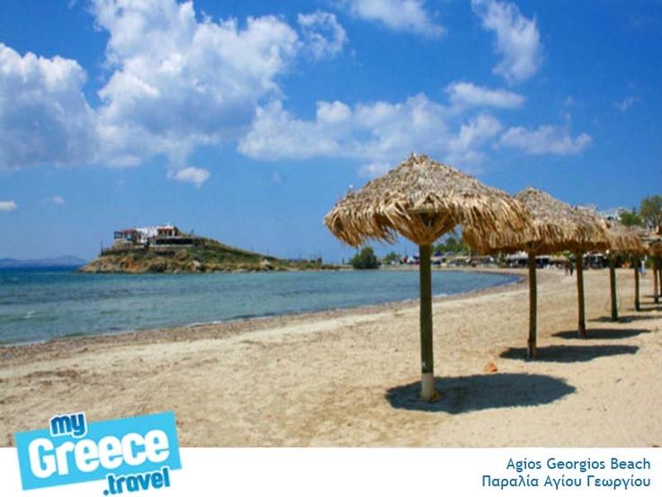 Agios Georgios Beach In Naxos. http://www.naxos-tours.gr/en/