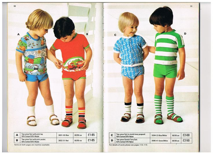 I collect vintage Mothercare clothes. This is a scan from the Mothercare 1978 summer catalogue.... If anyone can help me finding more vintage Mothercare clothes like these, I would be so happy!