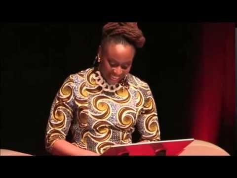 Chimamanda Ngozi Adichie - Dovremmo essere tutti femministi (sottotitolato in italiano) e DOVREMMO TUTTI GUARDARE QUESTO BELLISSIMO VIDEO E ASCOLTARE LE SUE PREZIOSE PAROLE.