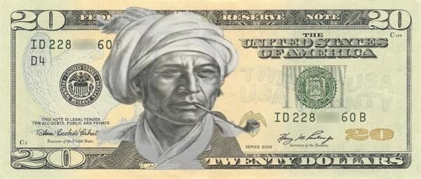 ICTMN.com: 10 Natives Who Should Replace Andrew Jackson on the $20 Bill