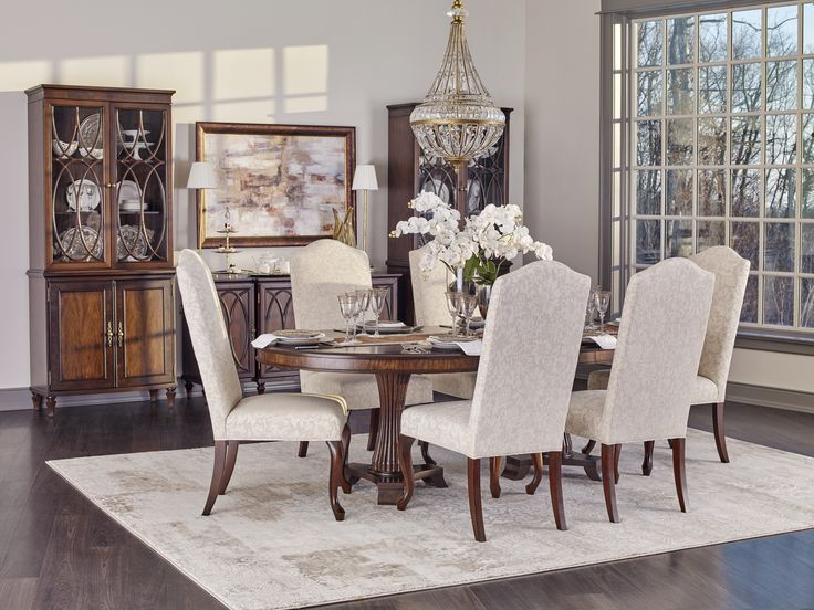 Debenham Dining Table And Chairs