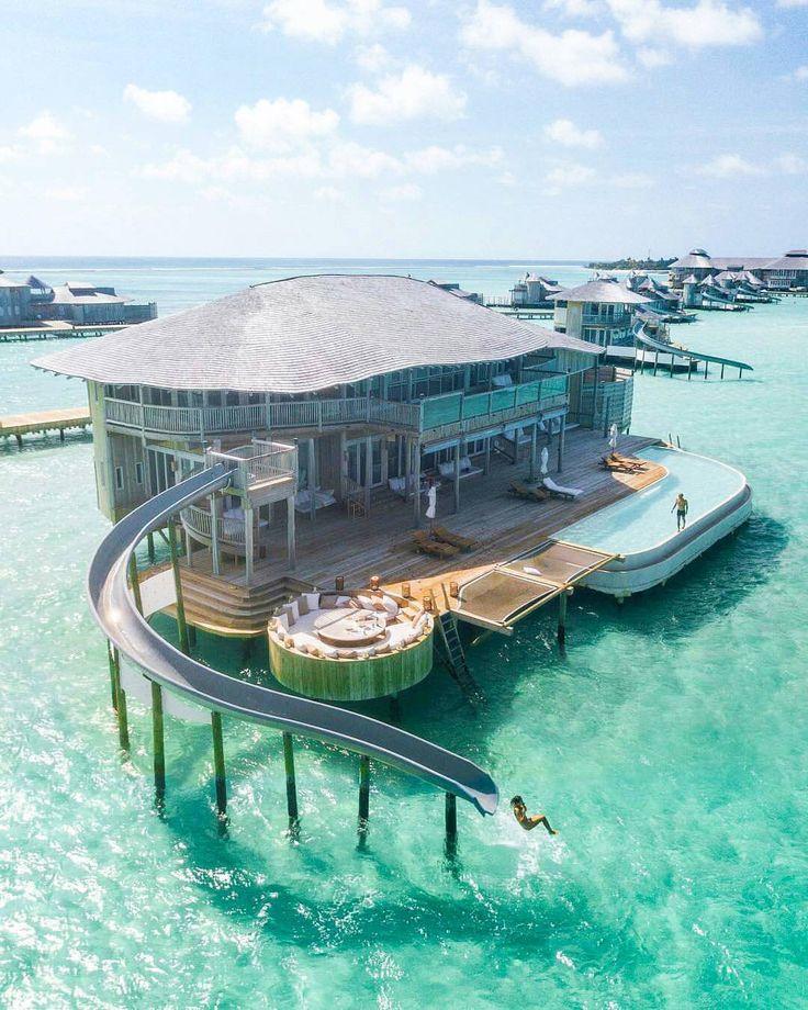 "5,765 Likes, 125 Comments - Maldives (@omaldives) on Instagram: ""Soneva Jani #Maldives Photo @hayleyvincent @discoversoneva @jacob #soneva #nichegetaways…"""