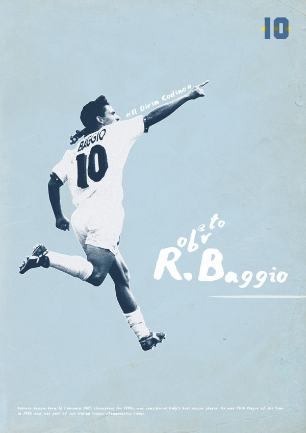 Football Legends by Dylan Giala, via Behance