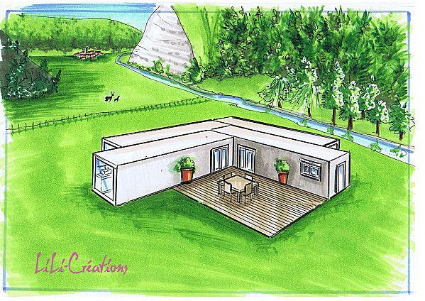 17 meilleures id es propos de maisons containers sur for Container maison a la reunion
