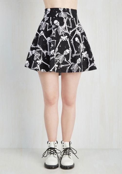 dancing skeleton skirt| up to 4XL!  pastel goth nu goth punk goth halloween plus…